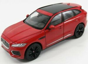 WELLY 1/24 JAGUAR   F-PACE SUV 2016   RED BLACK