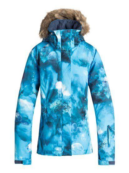 ROXY ROXY ROXY Skijacke Winterjacke Jacke snow jacket Snowboardjacke Jet Ski rot Rosa weiß 4476d4