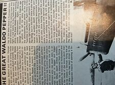 m9-9z ephemera 1970/s film article the great waldo pepper redford