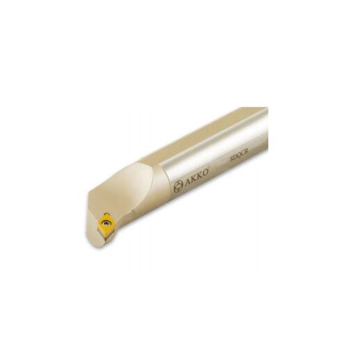 AKKO Bohrstange rechts Ø 16 mm SDQCR 11 für ISO Wendeplatte DCMT 11T3
