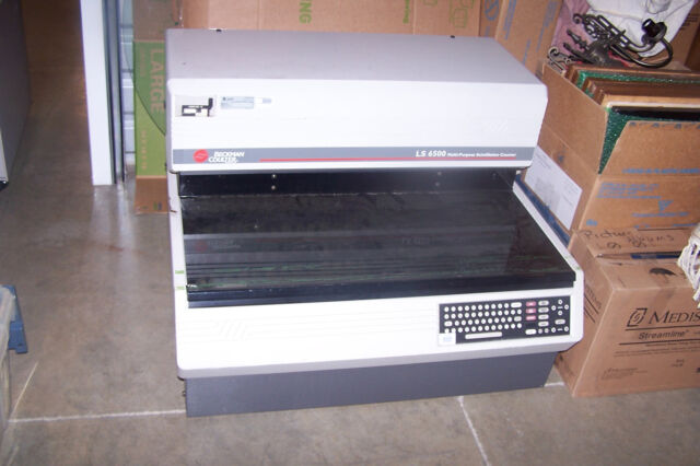 Beckman Coulter LS6500 Liquid Scintillation Counter As-Is