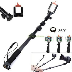 monopod extendable self portrait selfie handheld stick fr dslr dv iphone samsung ebay. Black Bedroom Furniture Sets. Home Design Ideas