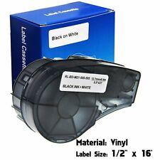 Label Cartridge For Brady M21 500 595 Wt Bmp21 Plus Lab Blackwhite 12 X 16