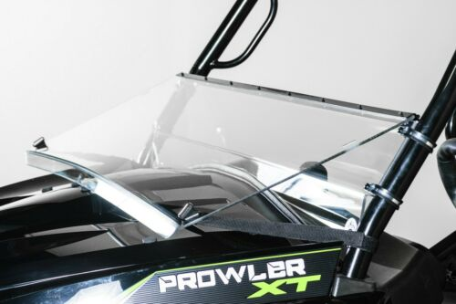 "Models 2015+ Arctic Cat Prowler HDX//XT Full Tilting Windshield 3//16/"""