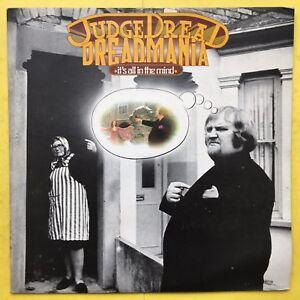 Judge-Dread-Dreadmania-It-039-s-All-in-The-Mind-Trojan-TRLS-60-Ex-Condizioni