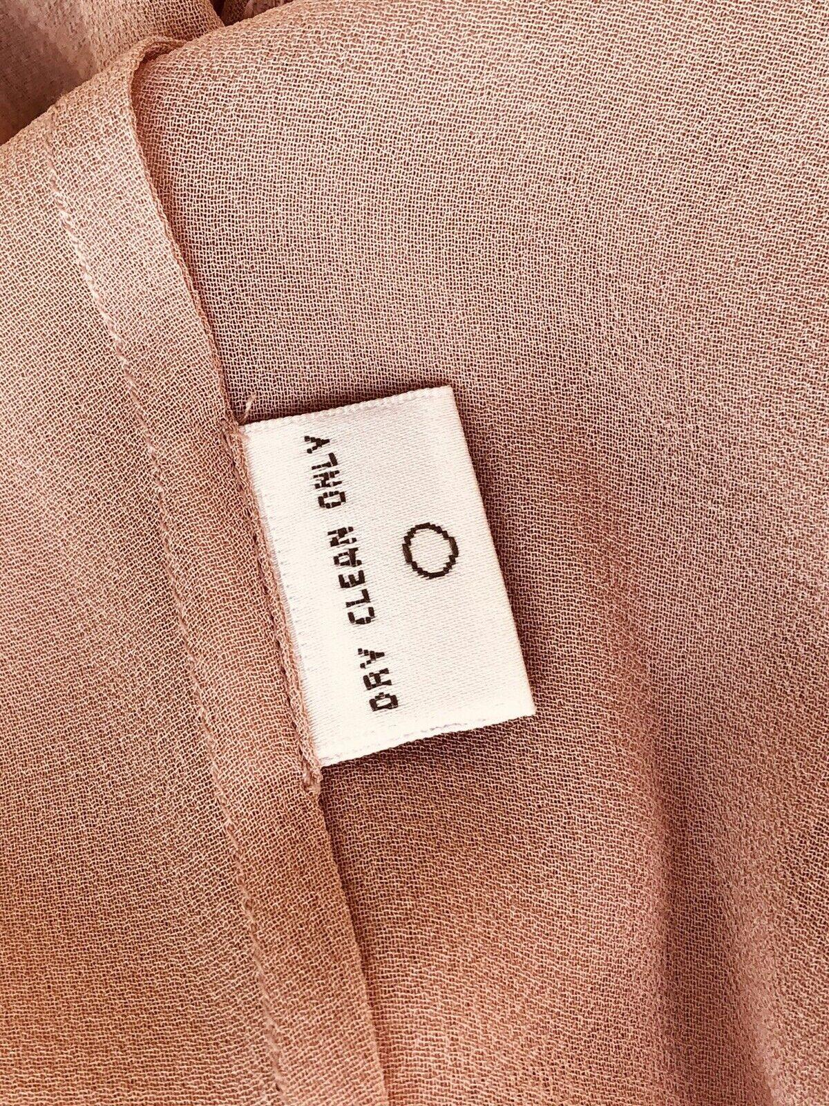 Vintage Stunning Jones Wear Silk Sheer Dusty Lila… - image 7