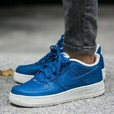 Nike Unisex/Kids Air Force 1 LV8 (GS) Trainers Retro Vintage Blue UK6 EUR 40