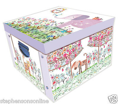 Daisy Patch Animal Friends Large Collapsible Storage Box