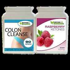 Celebrity Weight Loss Raspberry Ketone Plus Cleanse Slimming Tablets