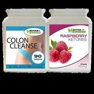 90-chetone-del-lampone-90-Detox-Colon-Inner-pulizia-perdita-di-peso-dieta-pillole-Tablet