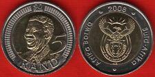 "South Africa 5 rand 2008 ""Nelson Mandela"" BiMetallic UNC"
