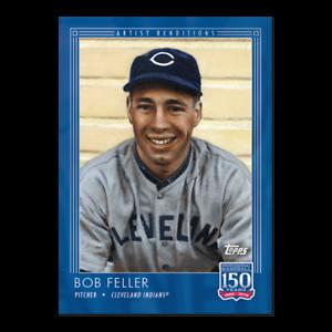 2019 Topps 150 años de béisbol #57 Bob Feller los Indios de Cleveland