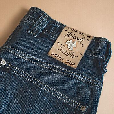 Imparato Jeans Diesel Vintage Di Base Gamba Dritta Bottone Blu (labelw 30) W 30 L 31-mostra Il Titolo Originale Sconto Complessivo Della Vendita 50-70%