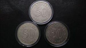 50sen-1967-68-69-set-high-grade