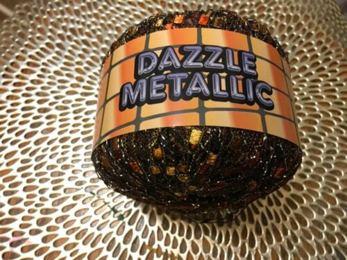 Knitting Fever Yarns Dazzle Metallic Polymide 142 yards Choose Color