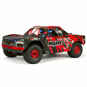 New 2021 1/7 MOJAVE 6S BLX V5 4WD Desert Truck RTR Ready To Run Red / Black