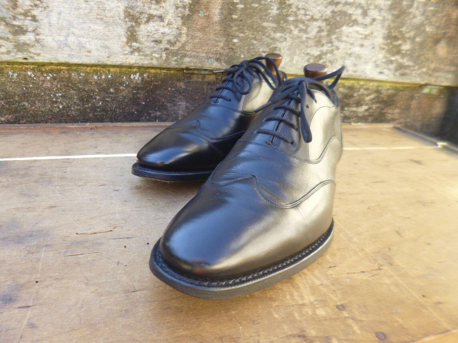 Iglesia Zapatos Oxford-Negro – UK 7.5 – Shergar – Excelentes Condiciones