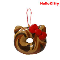 Authentic Sanrio Licensed Hello Kitty Big Donut Squishy - Chocolate Marble