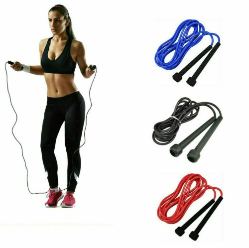 Adjustable Skipping Rope Jump Boxing Fitness Speed Rope Adult Kids Free P/&P
