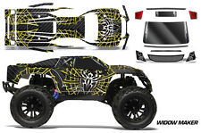 AMR Racing RC Graphic Decal Kit Upgrade Vaterra Halix Body Wrap Stickers WIDOW Y