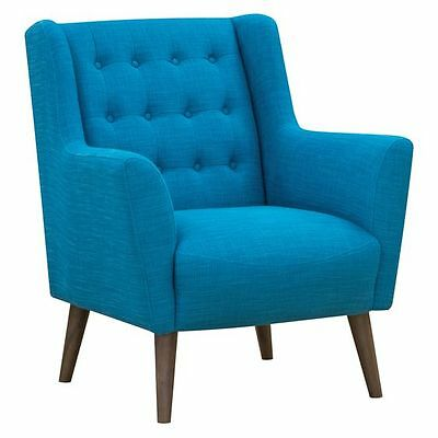 NEW Zanui Abel Teal Armchair