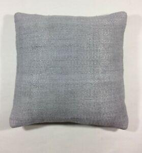 Modern Black hemp kilim pillow 16x16 Turkish hemp kilim pillow,handmade pillow,home living,accent pillow home decor nice pillow 40x40cm