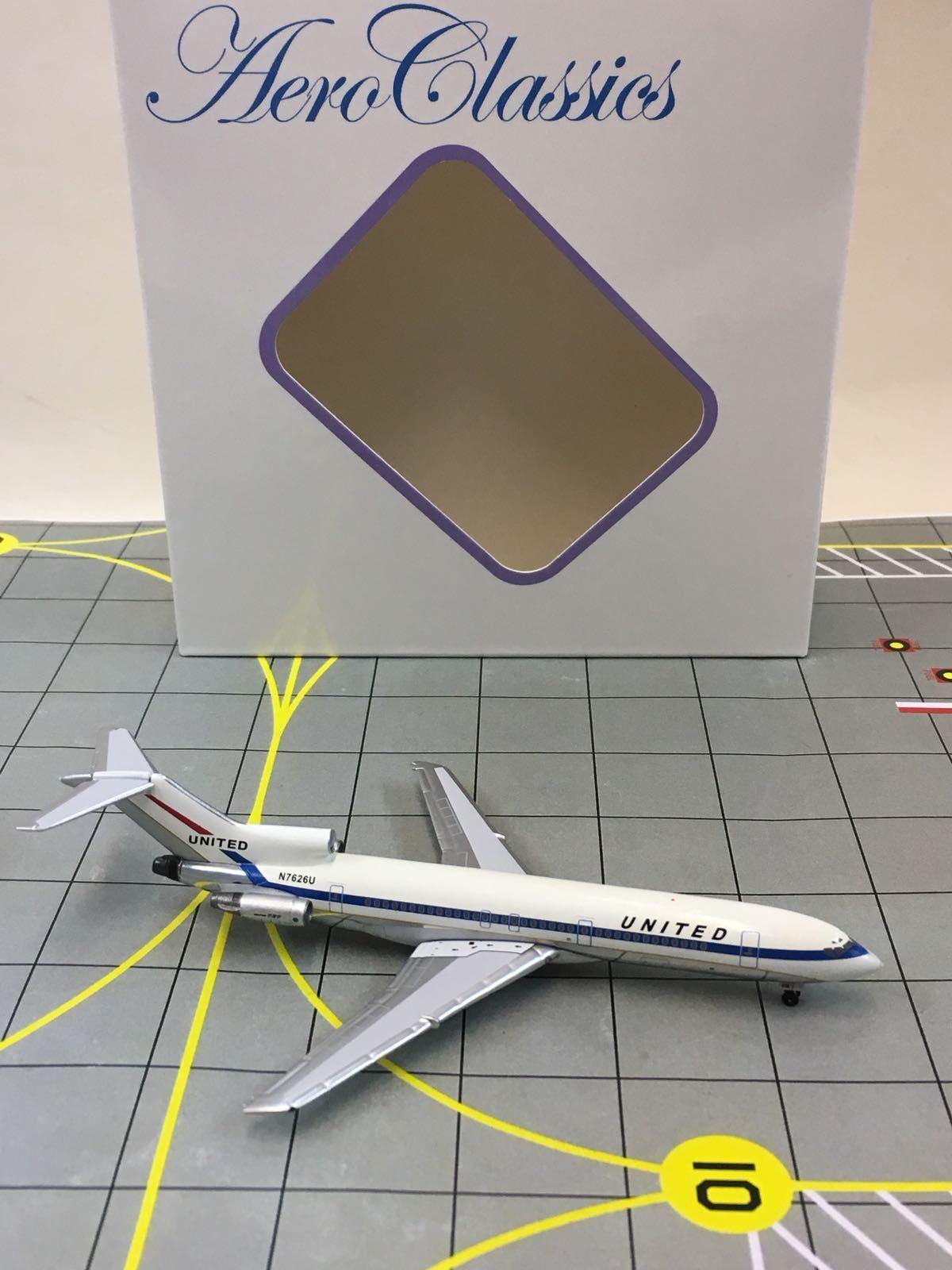 RARE AeroClassics 1 400 United Airlines Boeing 727-200 N7626U