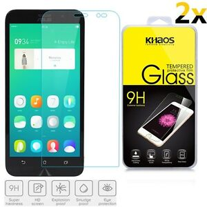 [2-Pack] KHAOS For ASUS ZenFone GO (ZB551KL) HD Tempered Glass Screen Protector