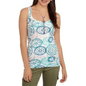 4c369bef2 Image is loading Faded-Glory-Women-039-s-Essential-Ribbed-Tank-