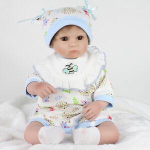Lifelike Newborn Baby Boy Girl Doll Reborn Dolls Nursery UK Artist Xmas Kid Gift 661273589977