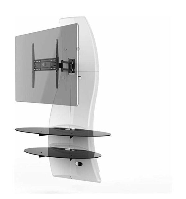 Meliconi Ghost Design 2000 Supporto Per Tv Lcd Al Plasma.Meliconi Ghost Design 2000 Rotazione Girevole Inclinare Staffa A Parete Sistema Per Tutte Le Tv