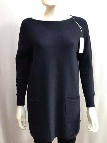 New Ladies  Jumper 2 Pockets Comfy Knitted Italian Quirky Casual Lagenlook Top