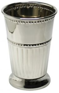 Large-Polished-Stainless-Steel-Julep-Cup-13oz-Silver-Goblet
