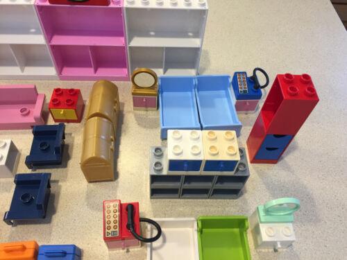 lego duplo phone bedroom bed cabinet light box drawer camera video blanket sofa