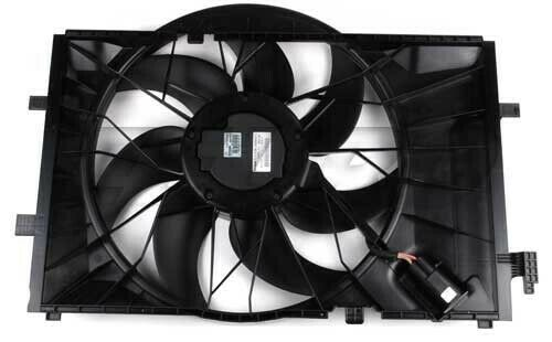Mercedes Benz W203 Engine cooling fan with no resistor