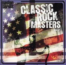 Classic Rock Masters, Vol. 2 by Various Artists (CD, Nov-2006, Immergent)