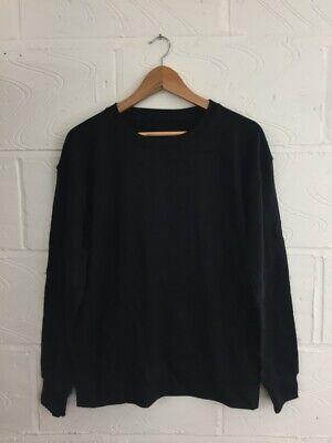 10x Black Plain Sweatshirts Pack - Unisex Sizes M. L Ready For Printing Auf Der Ganzen Welt Verteilt Werden
