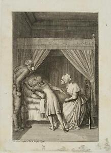 Chodowiecki (1726-1801). in caso di Hermann suo nonno; pressione grafico 1