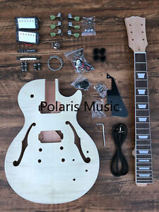 NEW SOLID 6 STRING JAZZMASTER STYLE ELECTRIC GUITAR BUILDER DIY KIT