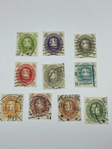 Denmark Scott 210-219 complete set With Free US Shipping