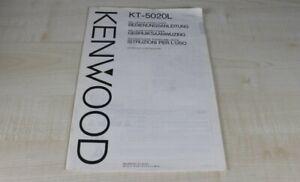 Kenwood-KT-5020L-original-Bedienungsanleitung-mehrsprachig-Deutsch