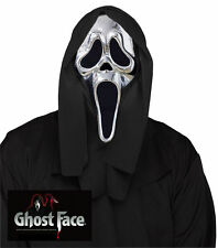 25th Anniversary Silver Limited Edition Ghost Face Scream Mask Chrome Plated New