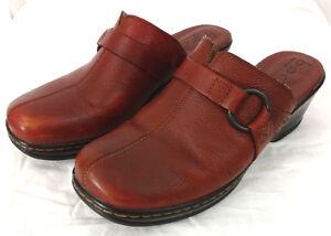 f933414a73bde Zapatos De Cuero B.O.C Born Concept Para Mujer Talla 8 Tacos Zuecos ...