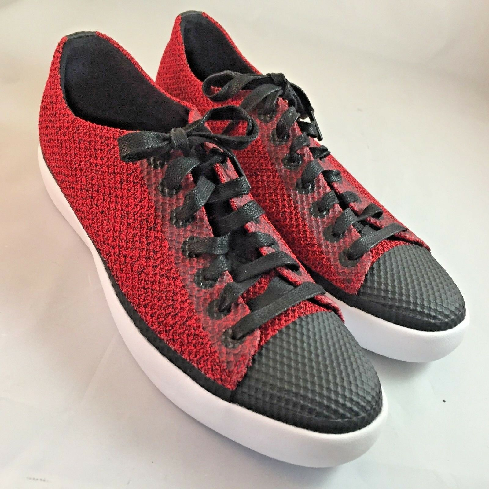 NEW NEW NEW Converse All Star Low Modern Red Flyknit NIKELAB size 10, 44 EUR SAMPLE RARE 63fc9c