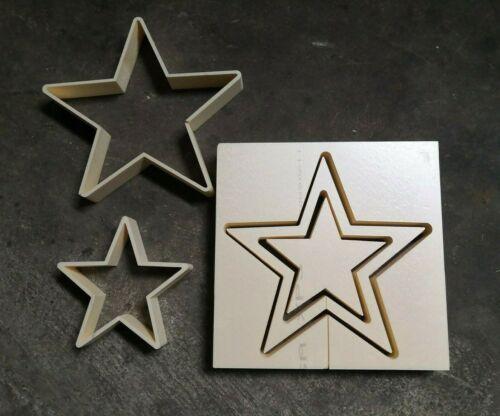 """Béton X-Bac Moule styrodur /""""Creux étoile/"""" 25 cm lumignons Support Chandelier"""