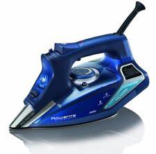 Rowenta 1110030616 Steam Iron, Stainless Steel Soleplate, LED Display, Blue