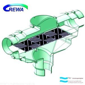 Eau De Pluie Filtre Galactophores Filtre Rewa F-100xl (110 Mm)-ter Zisternenfilter Rewa F-100xl (110mm) Fr-fr Afficher Le Titre D'origine Brillant