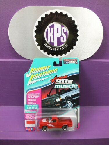 Johnny Lightning 90'S Muscle 1991 GMC Syclone JLMC014 IN RED