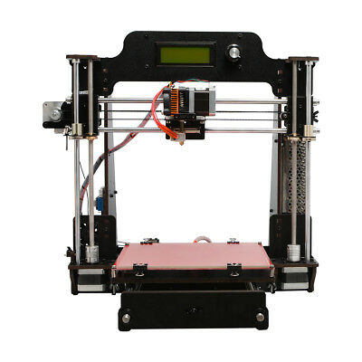 Free tax! GEEETECH 3D Imprimante Prusa I3 Pro W  LCD MK8 Wood Imprimante