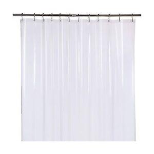 Buy AMAZER Shower Curtain Liner 72 X 78 Clear Eva 5g Mildew